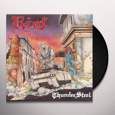 Riot THUNDERSTEEL / PRIVILEDGE OF POWER Vinyl Record