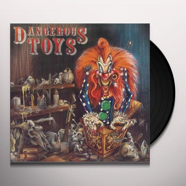 DANGEROUS TOYS / HELLACIOUS ACRES Vinyl Record