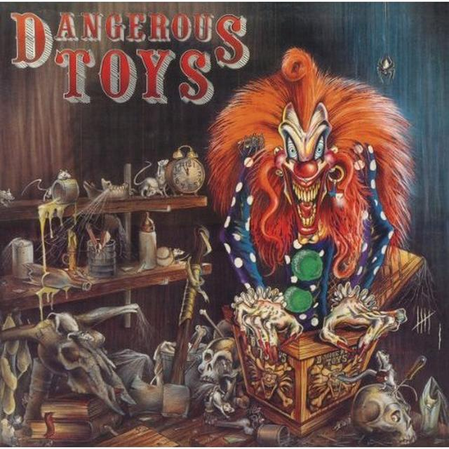 DANGEROUS TOYS / HELLACIOUS ACRES Vinyl Record