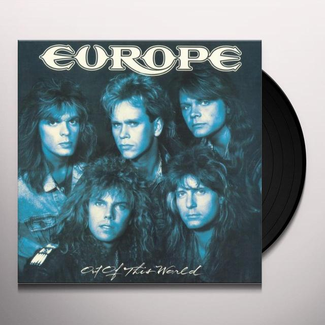 Europe OUT OF THIS WORLD / PRISONERS IN PARADISE Vinyl Record