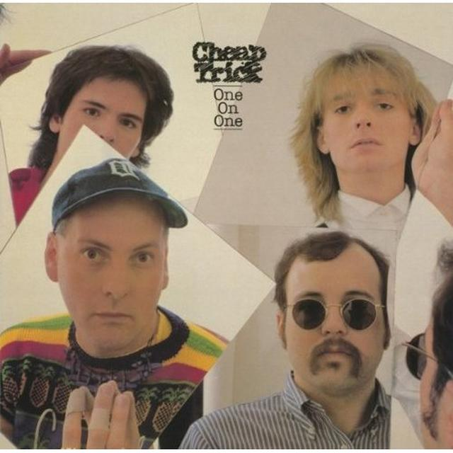 Cheap Trick ONE ON ONE Vinyl Record