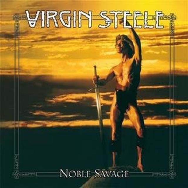 Virgin Steele NOBLE SAVAGE Vinyl Record