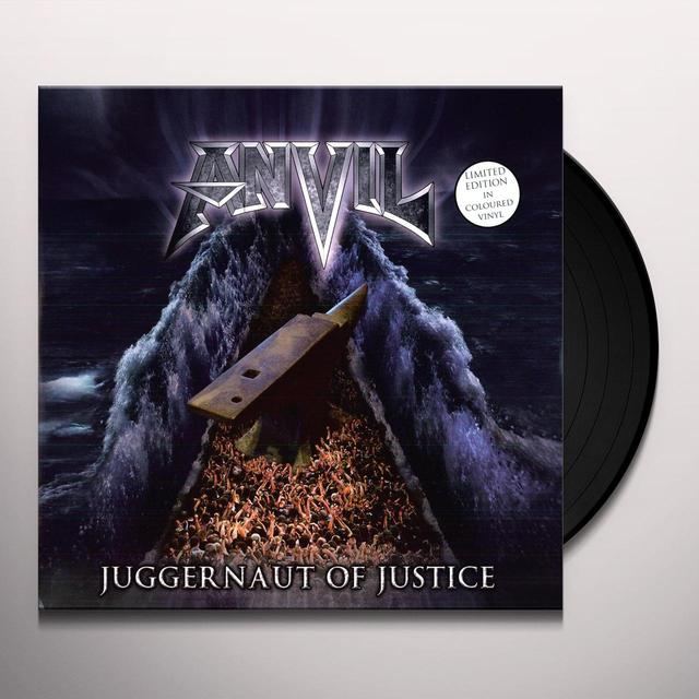 Anvil JUGGERNAUT OF JUSTICE Vinyl Record