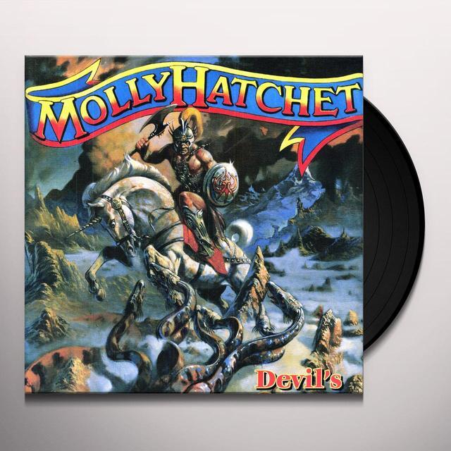 Molly Hatchet DEVIL'S CANYON Vinyl Record