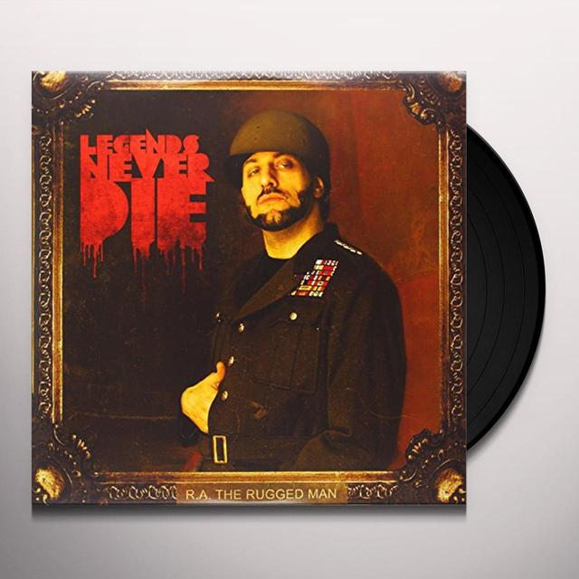 R.A. Rugged Man LEGENDS NEVER DIE Vinyl Record