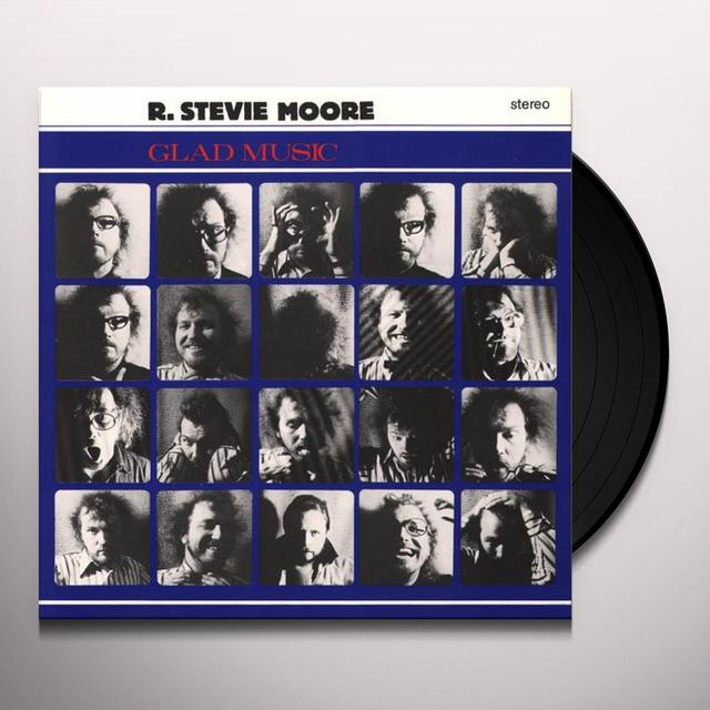 R. Stevie Moore GLAD MUSIC Vinyl Record