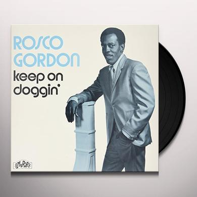 Rosco Gordon KEEP ON DOGGIN' Vinyl Record