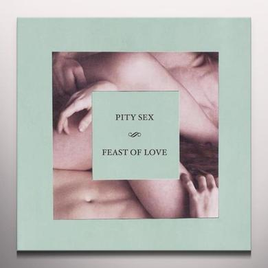 Pity Sex FEAST OF LOVE Vinyl Record