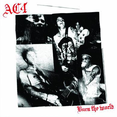 Ac4 BURN THE WORLD Vinyl Record
