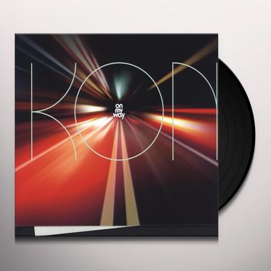 Kon ON MY WAY (DLCD) (Vinyl)