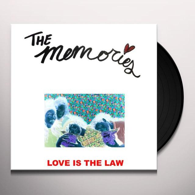 Memories LOVE IS THE LAW Vinyl Record