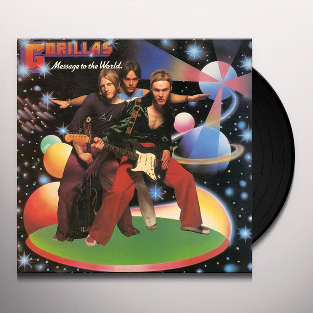 Gorillas MESSAGE TO THE WORLD Vinyl Record