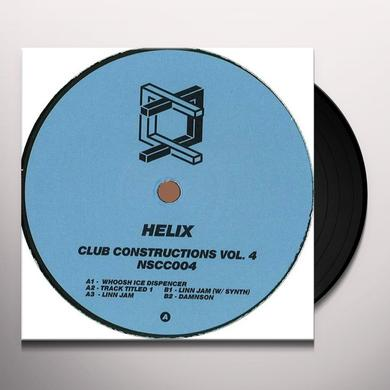 Helix CLUB CONSTRUCTIONS 4 Vinyl Record
