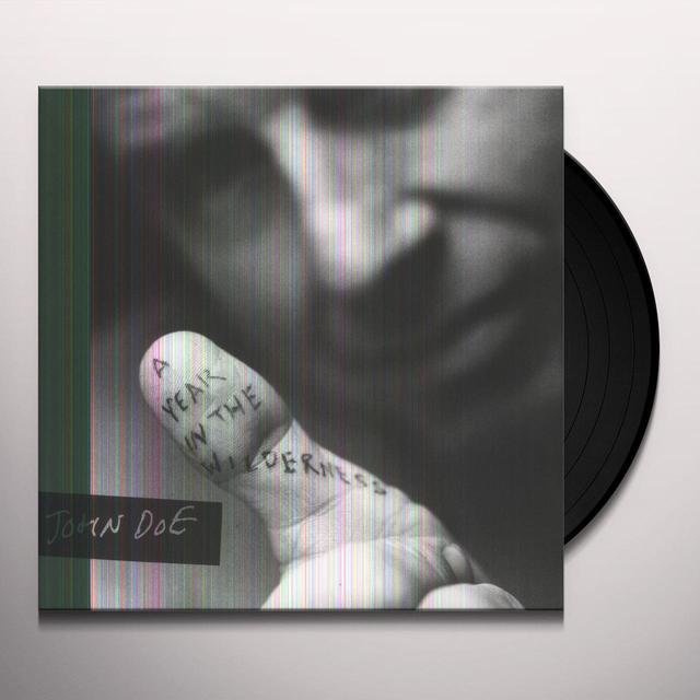 John Doe YEAR IN THE WILDERNESS Vinyl Record