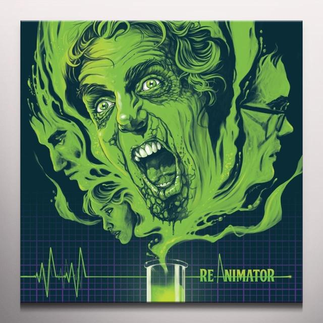 Richard Band RE/ANIMATOR (SCORE) / O.S.T. Vinyl Record - 180 Gram Pressing, White Vinyl, Remastered