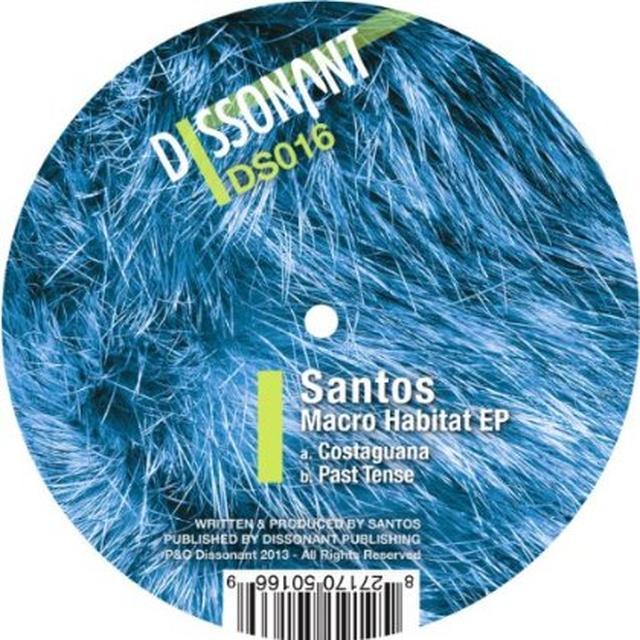 Santos MACRO HABITAT Vinyl Record