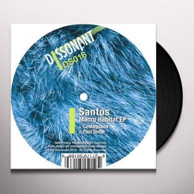 Santos MACRO HABITAT (EP) Vinyl Record