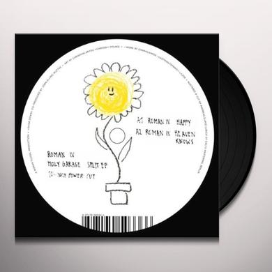 Roman Iv / Holy Garage SPLIT Vinyl Record