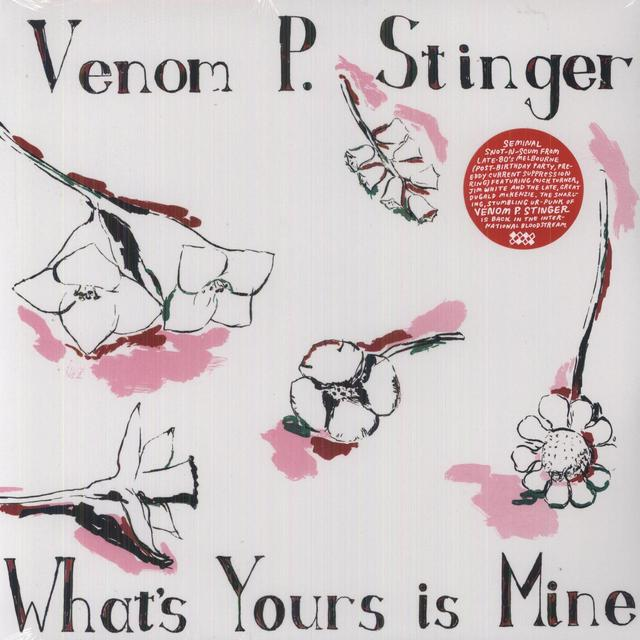 Venom P. Stinger WHAT'S YOURS IS MINE Vinyl Record