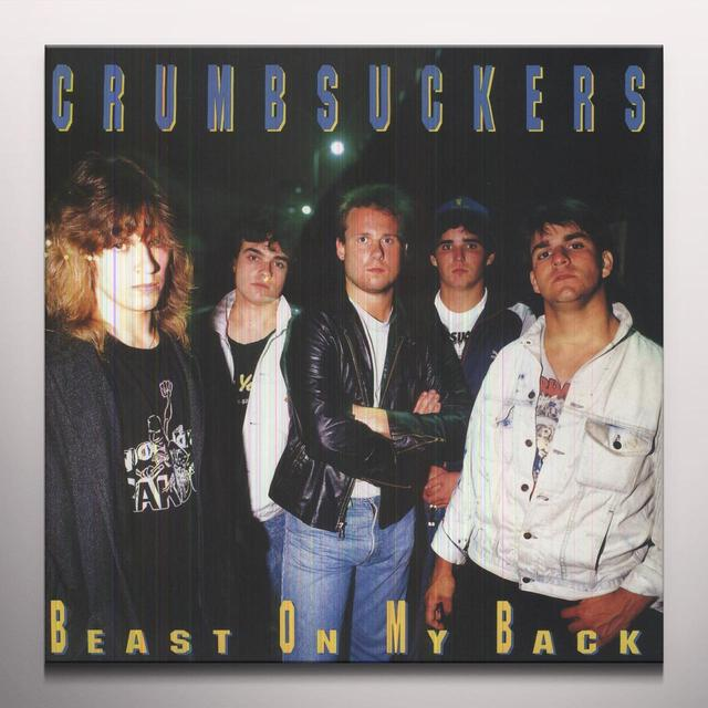 Crumbsuckers BEAST ON MY BACK Vinyl Record - Colored Vinyl, Limited Edition, 180 Gram Pressing