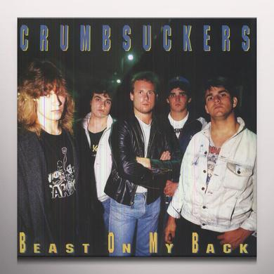 Crumbsuckers BEAST ON MY BACK Vinyl Record - Colored Vinyl, Limited Edition, 180 Gram Pressing
