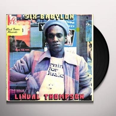 Linval Thompson SIX BABYLON Vinyl Record