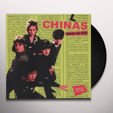 Las Chinas AMOR EN FRIO: GRABACIONES COMPLETAS 1980-1982 Vinyl Record