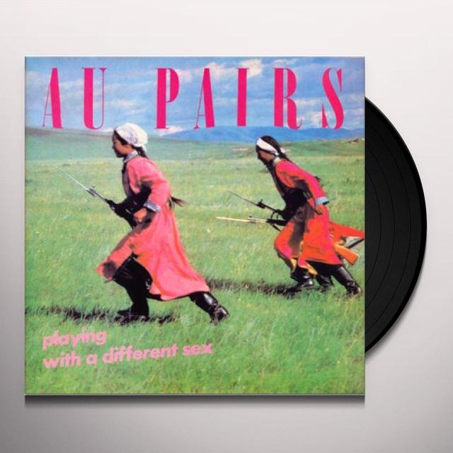 Au Pairs PLAYING WITH A DIFFERENT SEX Vinyl Record - Limited Edition, 200 Gram Edition