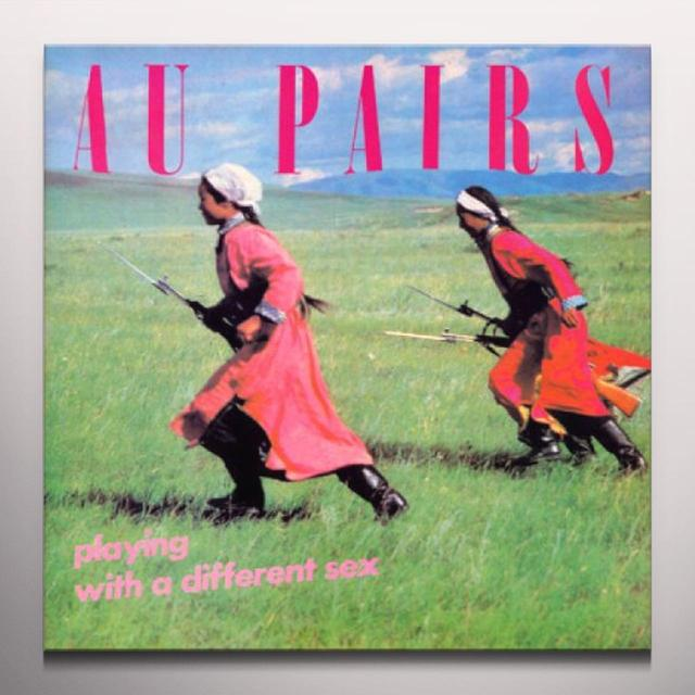 Au Pairs PLAYING WITH A DIFFERENT SEX Vinyl Record - Limited Edition, Colored Vinyl