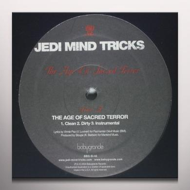 Jedi Mind Tricks AGE OF SACRED TERROR / SAVIORSELF Vinyl Record