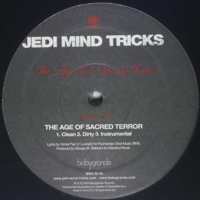 Jedi Mind Tricks AGE OF SACRED TERROR / SAVIORSELF Vinyl Record