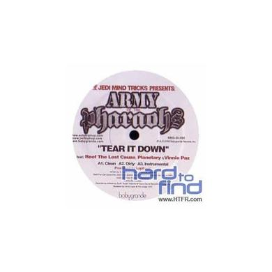 Jedi Mind Tricks ARMY OF THE PHARAOHS: TEAR IT DOWN / BATTLE CRY Vinyl Record