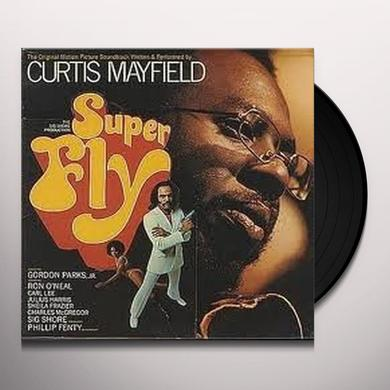 Curtis Mayfield SUPERFLY Vinyl Record - 180 Gram Pressing