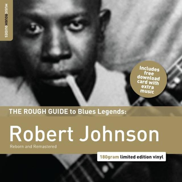 Robert Johnson ROUGH GUIDE TO JAZZ & BLUES Vinyl Record - Remastered