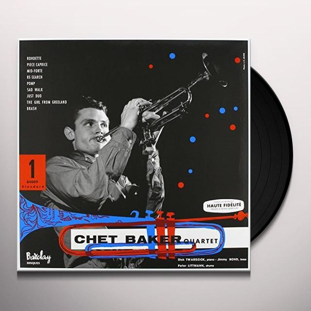 CHET BAKER QUARTET Vinyl Record