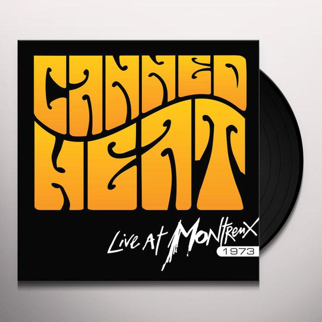 Canned Heat LIVE AT MONTREAUX 1973 Vinyl Record