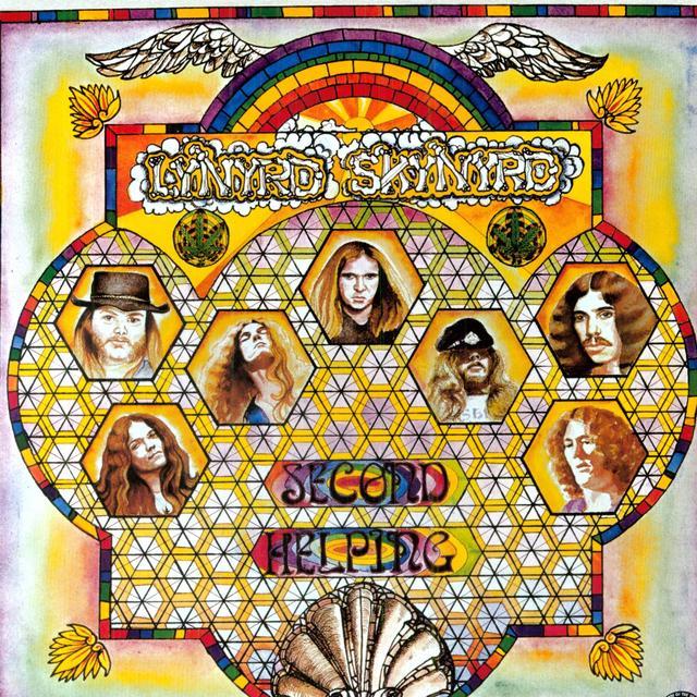 Lynyrd Skynyrd SECOND HELPING Vinyl Record