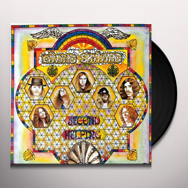 Lynyrd Skynyrd SECOND HELPING Vinyl Record - UK Import