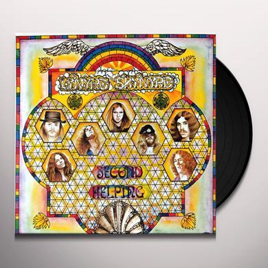 Lynyrd Skynyrd SECOND HELPING Vinyl Record - UK Import