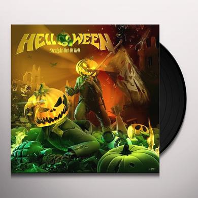 Helloween STRAIGHT OUT OF HELL Vinyl Record