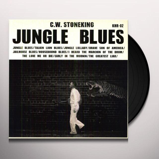 C.W. Stoneking JUNGLE BLUES Vinyl Record - UK Import