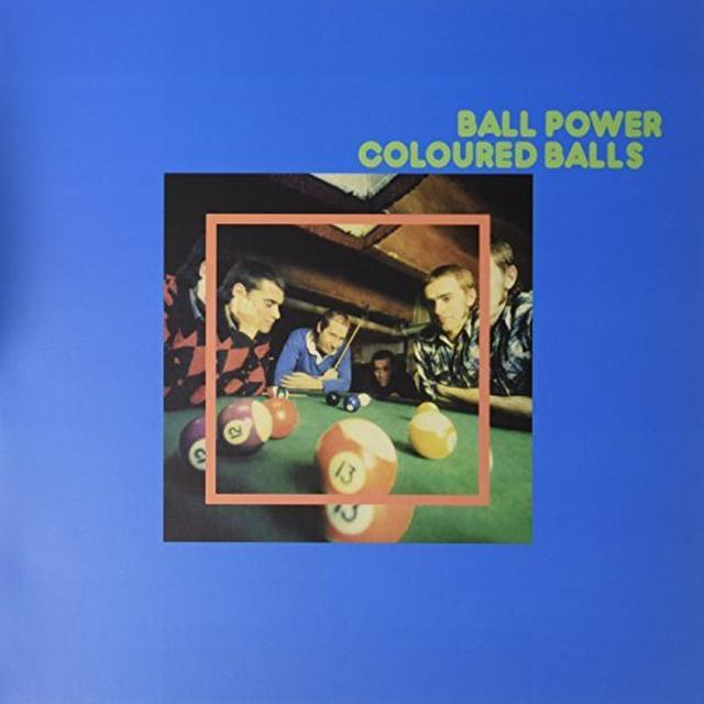 Coloured Balls BALL POWER Vinyl Record