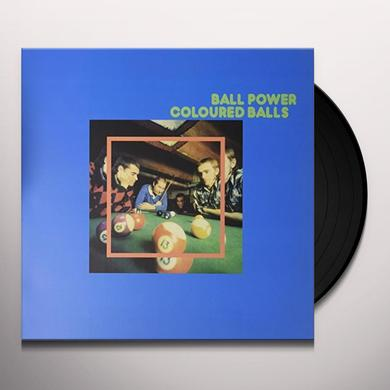 Coloured Balls BALL POWER Vinyl Record