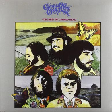 Canned Heat COOKBOOK: THEIR GREATEST Vinyl Record