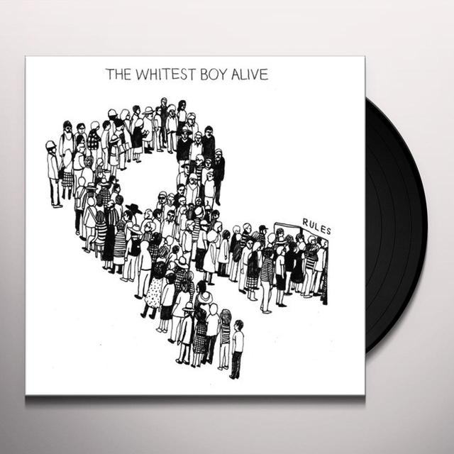Whitest Boy Alive RULES Vinyl Record