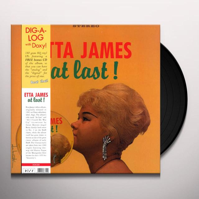 Etta James AT LAST (BONUS CD) (Vinyl)