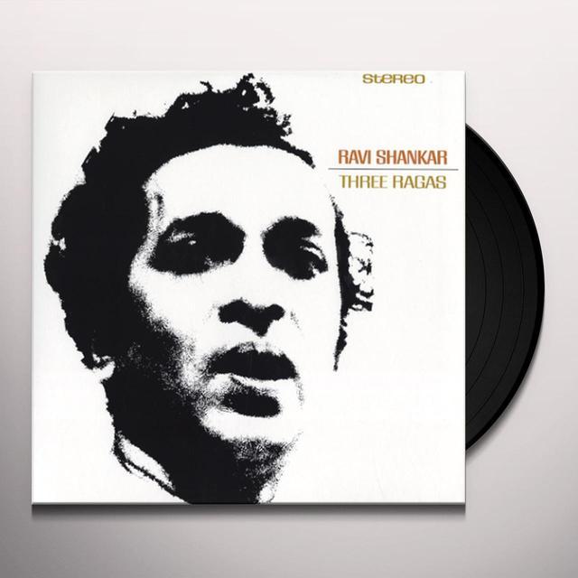 Ravi Shankar THREE RAGAS (Vinyl)