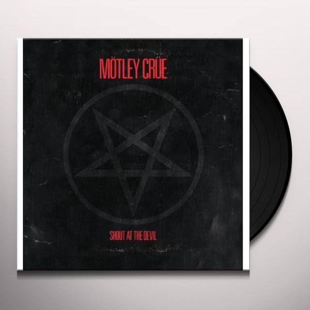 Motley Crue SHOUT AT THE DEVIL Vinyl Record - 180 Gram Pressing