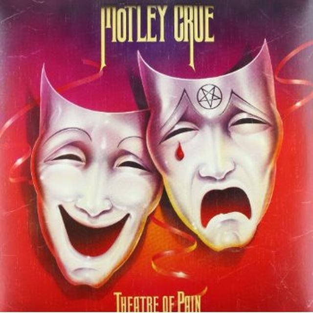 Motley Crue THEATRE OF PAIN Vinyl Record - 180 Gram Pressing