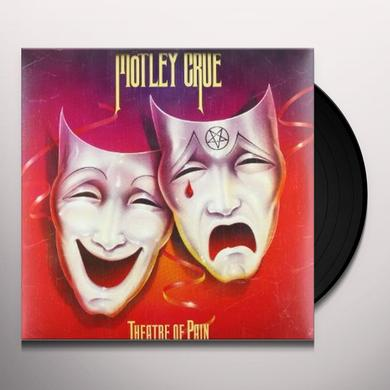 Motley Crue THEATRE OF PAIN Vinyl Record - 180 Gram Pressing